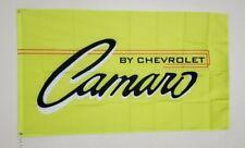 Camaro Banner 3x5 Ft Flag Garage Shop Wall Decor Chevrolet Chevy NASCAR Racing