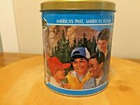 Vintage Trails Ends Boy Scouts of America Limited Edition 1990 Empty Popcorn Tin
