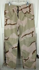 Gore Tex Extended Cold Weather Trousers Tan Desert Camo Military Pants Size: S
