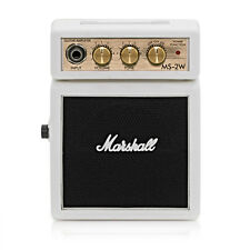 Marshall MS-2 White Mini Amp