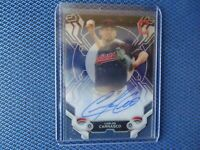 2019 TOPPS HIGH TEK  ON CARD AUTO CARLOS CARRASCO CLEVELAND INDIANS