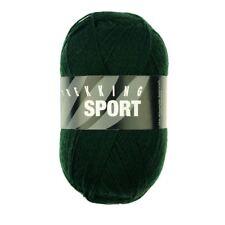 Trekking Sport 4ply Sock Yarn / Wool 100g - Bottle Green (1418) + FREE pattern