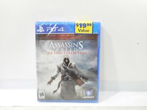 Assassins Creed The Ezio Collection PS4 - Sealed Brand New Playstation 4
