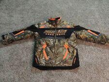 Castle X Outdoor Gear Youth XL Snowmobile Race Wear Edition RealTree Camo Orange