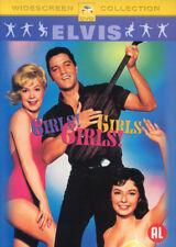 GIRLS GIRLS GIRLS - ELVIS PRESLEY - SEALED DVD