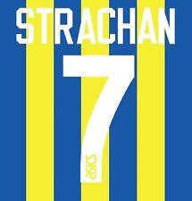 No 7 Strachan Leeds United Away 1993-1994 Football Nameset for shirt