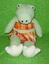 "Gund Pottery Barn Kids ALLIGATOR IN SWIMSUIT Plush Stuffed Toy 12"" GIGGLES Allie"