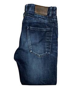 Original Selected Denim 170/79A Carrot Fit Indigo Denim Jeans W30 L30 ES 7383