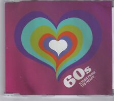 (GJ133) British Heart Foundation CD - 60s, Songs From The Heart - 2011 CD