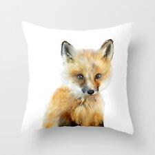 Cuscino federa l'animale carino volpe 18' * 18' Home decorationuk STOCK
