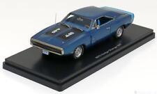 1:43 Ertl/Auto World Dodge Charger R/T440 1970 bluemetallic/black