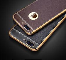 Handy Hülle für Apple iPhone Samsung Galaxy Case Kunstleder Tasche Cover Etui