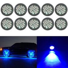 10X 15W Blue Eagle Eye LED Rock DRL Daytime Reverse Backup Parking Signal Light
