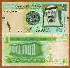 Saudi Arabia, Kingdom, 1 Riyal, 2012, P-31 (31c), UNC > Replaced by a coin