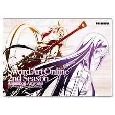 Sword Art Online 2nd Season Illustration Art Book SAO from Japan