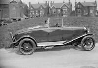 OLD LARGE PHOTO, the Alvis 10/40 car at the Southport Rally 1928