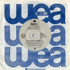 """ERIC CLAPTON - THE SHAPE YOU'RE IN - RARE 7"""" 45 VINYL RECORD - 1983"""