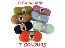 4 X Double Knitting Premium Acrylic Crochet Yarn Wool 100g / 300 meters