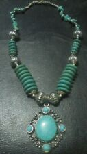 Handcrafted Oriental  Turquoise necklace