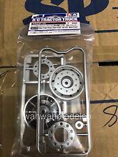 Tamiya 56519 RC Metal-Plated Wheels (30mm Width / Hex Hub / Matte Finish)- 2pcs