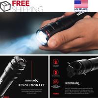 NEBO Redline X Tactical Flashlight 1800 Lumens Rechargeable Waterproof 4X Zoom