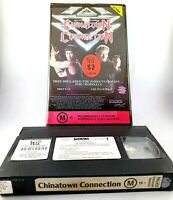 China Town Connection Ex Rental VHS Video PAL Rated M15 96 Min Clam Shell case