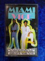 MIAMI VICE Music From The TV Series Soundtrack RARE AUDIO CASSETTE TAPE ALBUM