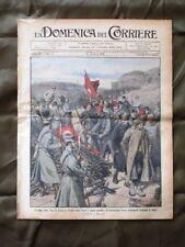 La Domenica del Corriere 16 Marzo 1913 Giannina Turchi D. del Montenegro Roma
