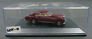 Lot-11 Oxford Diecast Maroon Bentley Continental S1 Fastback 1:43 Scale in Case