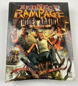 Redneck Rampage Rides Again Big Box PC Game Interplay DOS CD-Rom