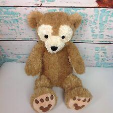 "Disney Parks Duffy Light Brown Teddy Bear 17"" Mickey Mouse Stuffed Animal Plush"