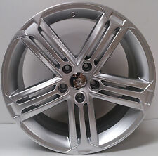 To fit Audi A4 A6 A7 18 inch alloy wheels hyper silver