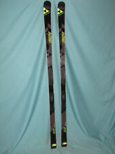 Fischer RC4 World Cup GS Race Code racing skis 195cm w/ race plates no bindings~
