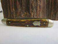 Very RARE Vintage 1910-20s ~BRIDGE CUTLERY CO~ ST LOUIS ~BONE~Pocket  KNIFE E4
