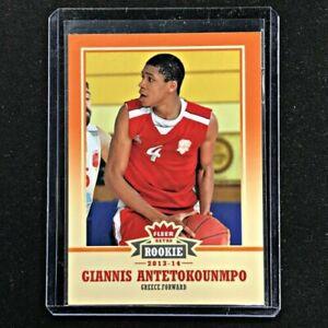 Giannis antetokounmpo 2013-14 Fleer Retro Rookie Card Rc