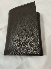 Nike Men's Wallet Tri Fold New.  Brown