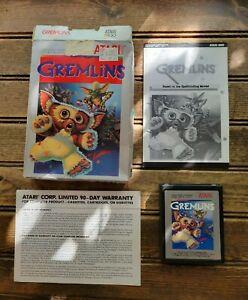 Rare Gremlins Warner Bros ATARI 2600 Video Game Cartridge In Box /Box damaged
