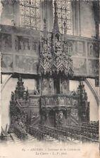 ANGERS - la silla - dentro de la catedral