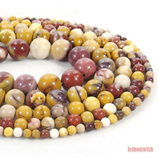 Natural Mookaite Jasper Stone Spacer Beads 15.5'' 2mm 3mm 4mm 6mm 8mm 10mm 12mm