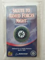 2007 Coin - Salute to Armed Forces Night Seattle Mariners SGA Military 04/03/07