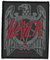 Official Licensed Merch Woven Sew-on PATCH Heavy Metal Rock SLAYER Black Eagle