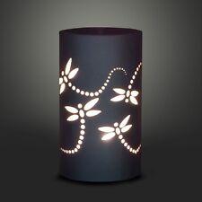 Essential Oil Burner - Dragonflies - Aromatherapy Diffuser Tea Light Ceramic