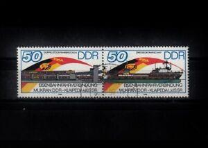 DDR_0078c ZD 3052|3053 ʘ aus 1986 - Eisenbahnfährverbindung Mukran <-> Klaipeda