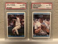 Two Red Sox Roger Clemens PSA 8 Cards!!