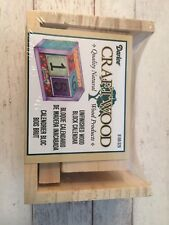Darice wood block calendar kit - Brand New