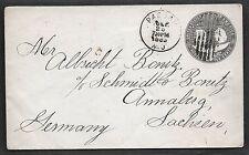 US 1893 COLUMBUS STAMPED ENVELOPES COLLECTION OF 8 SC. U348-U351 INCLUDING 5c