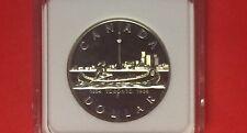 CANADA-1984 UNCIRCULATED SILVER DOLLAR PROOF COIN ,TORONTO .