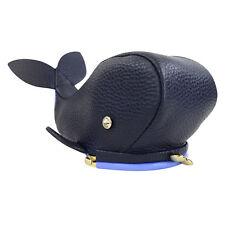 NWT Kate Spade Whale Kisslock Coin Purse Off We Go WLRU2839 Navy Blue/ Lavender