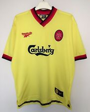 FC LIVERPOOL 19971999 AWAY FOOTBALL JERSEY CAMISETA SOCCER MAGLIA SHIRT VINTAGE