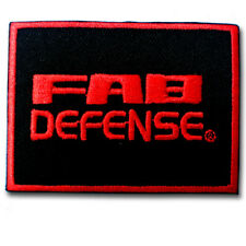 FAB Defense patch Iron on Embroidered Pistols Guns Rifles Shotguns Firearms